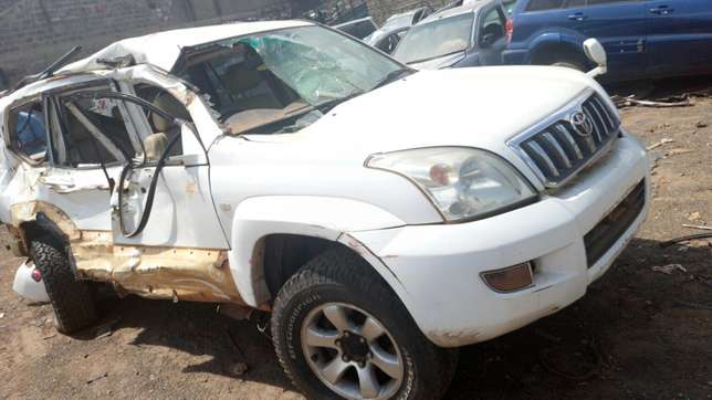 Toyota Prado ,KBm with damaged right side Industrial Area - image 1