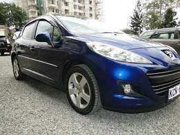 Fully loaded Peugeot 207 (2010)1600cc petrol automatic cash bank finance accepted also arranged.