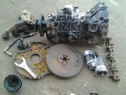 Nissan ud 40 gearbox and various spares