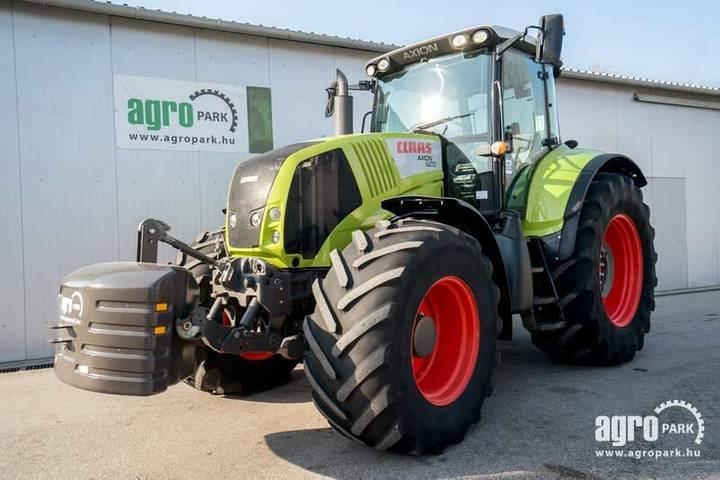 Claas Axion 850 (6594 Hours) Hexashift 24/24 Powershift - 2009