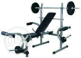 Commercial sit up bench and weight lifting nd 50kg dumbell Lagos Mainland - image 2