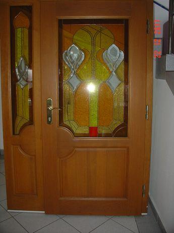 Nowość Drzwi wejściowe z witrażem Nowy Sącz • OLX.pl JZ99