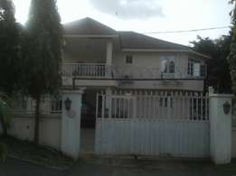 6 bed duplex with bq and swimming pool in asokoro
