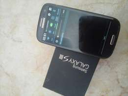 Samsung galaxy s3 with box