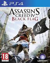 PS4 Game- Assassins Creed Black Flag