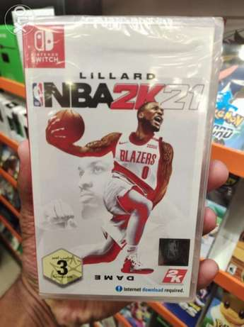 NBA2K21 Nintendo Switch Game Available Now