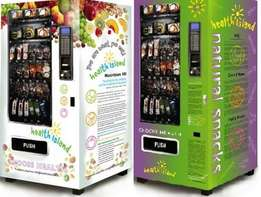 combo vending machine. Good working order. 4 x drink selections 10 x s