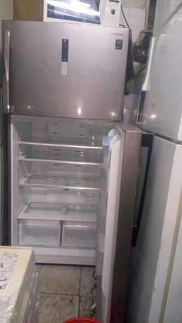 New arrivals ex uk silver samsang double door fridge very big Nairobi CBD - image 1