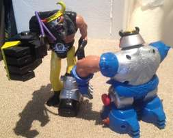 Hammer Hand and Crusher Head set from Thundercats