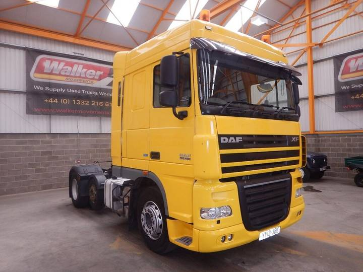 DAF XF105 460 EURO 5 SPACE CAB 6 X 2 FTP TRACTOR UNIT - 2013 - - 2013