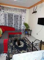 3 Bedroom to let in Mtwapa beach with a swimming pool.