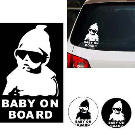 Baby On Board Sticker Nairobi CBD - image 1