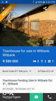 3 bedroom 2 bathroom house at Witbank Ext 41