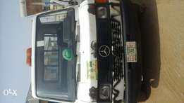 Few months used Mercedes truck.