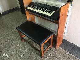 Keyboard, Keyboard Stand, and Bench