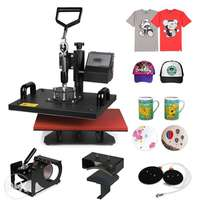 Brand new 5 combo Heat Press All in One Full Rotation Design