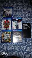 PS4 Games- Amazing!!(plus cards against humanity)