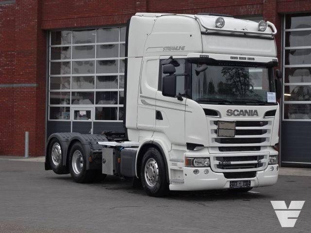 Scania R500 LA6x2MNA ADR, PTO, Streamline , Euro 5 - 2013