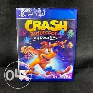Crash Bandicoot 4 Its About Time Ps4 (New!)