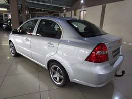 Chevrolet aveo 1.6 sliver colour