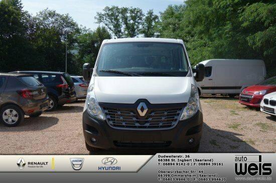 Renault Master 2.3 dCi 130 3,5t L3H1 Doppelkabine Alu Pr - 2019