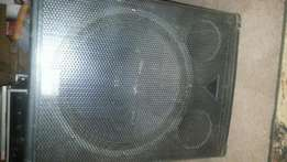 Bass binn x 2 for sale