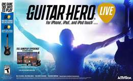 Guitar Hero Live (Game + Guitar) (IOS) Tablets and Smart Phones