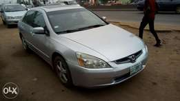 Reg 2005 Honda accord