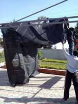 Replace old car shade net at 35,000 Kshs. Only