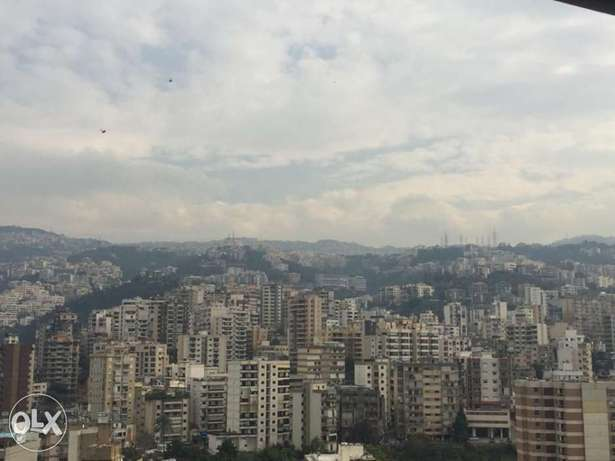 BANKER CHECK panoramic view 185 sqm new apartment antelias metn