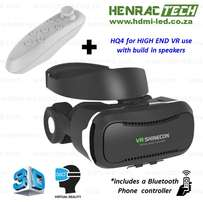 VR Glasses, HQ4, Highest Quality 3D, speakers with Bluetooth Controlle