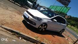 polo6 gti white colour model 2015 for sale