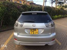 Toyota harrier ,alloys ,new tyres ,bodykits,rear camera .