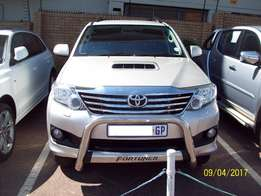2014 Toyota Fortuner 3.0 D-4D Manual