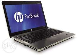 HP core i5 laptop with 750 HDD, 4Gb ram,3.0 Ghz