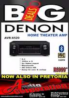 Audio Corp: New Denon AVRX520 Home Theater Amp