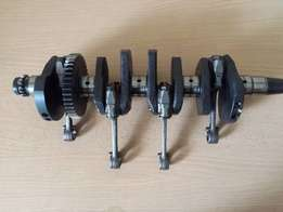 Kawasaki ZXR400 Crankshaft with rods for sale.