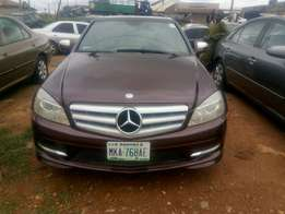 Very clean Benz C300 4matic 2007 model at N3,750,000.