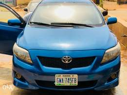 Super clean 2009 Toyota Corolla S with first body.