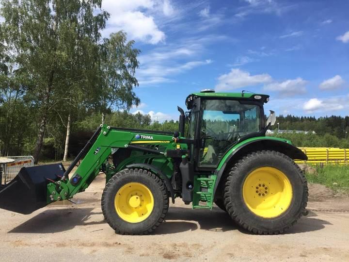 John Deere 6120r Ft4 Traktor (kund) - 2016