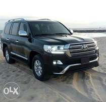 Registered 2010 upgraded to 2016 Toyota land cruiser