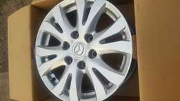 Mazda BT 50 rims for sale in good condition. 17 inch.