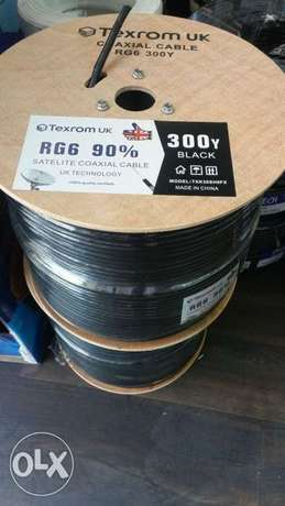 RG 6 cable ameriki home delivery and fitting satellite satellite pleas