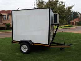 Refrigerated Trailer,Perfect for transporting Goods(Ice Cream, Meat)