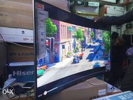 The creative life curved TV 48inches smart and digital on offer