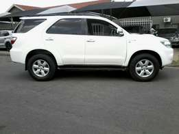 2010 Toyota Fortuner 3.0 D4D in good condition