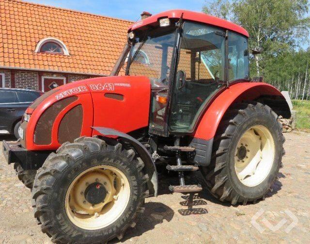 Zetor 8641 Forterra Tractor - 04 - 2004