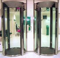 Man Trap Security Booth For Banks,Shopping Mall ETC