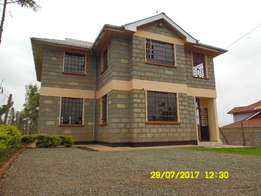Beautiful 4bedroomed Mansionette to let