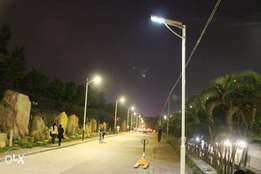 All In One Automatic Dusk Till Dawn Solar Security/Street Lights